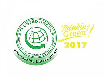 Sơn TOA Việt Nam Đạt Chứng Nhận Trusted Green - Chỉ Số Tín Nhiệm Xanh 2017