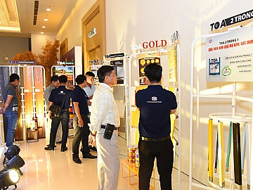 "TOA PAINT VIETNAM EXPRESSES GRATITUDE FOR CUSTOMERS DURING THE ""ACCOMPANYING - INNOVATION - SUCCESS"" EVENT"