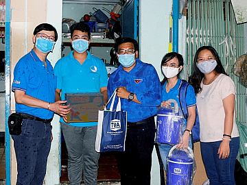 TOA PAINT VIETNAM ACCOMPANIES VIETNAMESE GOVERNMENT TO FIGHT COVID-19 PANDEMIC