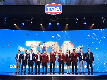 """COMPANION, INNOVATION, SUCCESS"" WITH TOA PAINT VIETNAM"