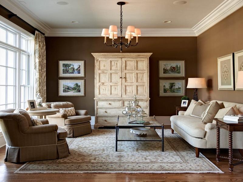Sử dụng thảm cho phòng khách