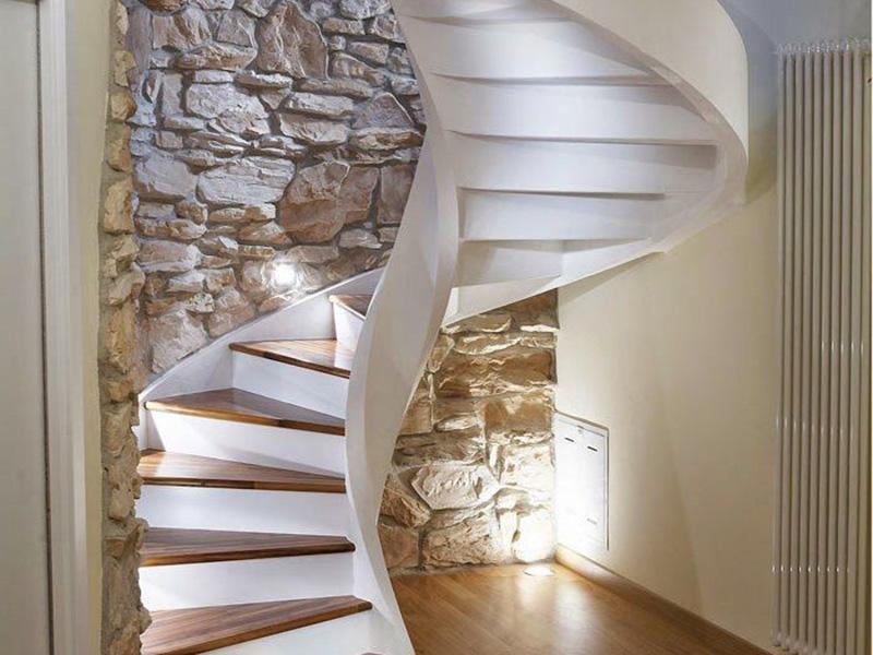 Cầu thang xoắc ốc