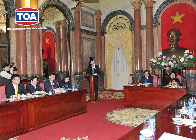 Sơn TOA Việt Nam trao tặng 1 tỷ
