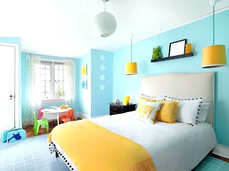 Phối màu sắc tương phản cho căn phòng