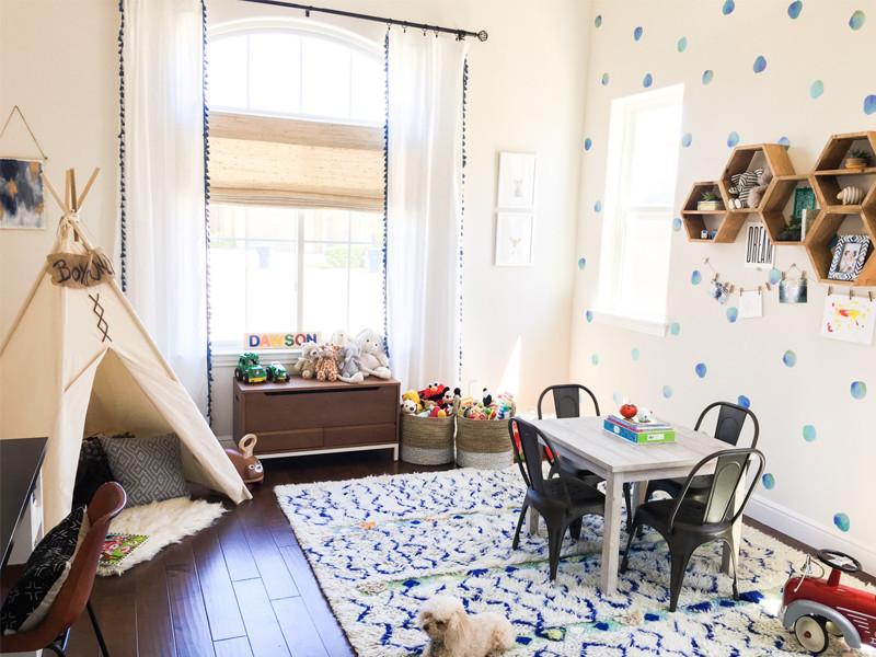 Lựa chọn màu sơn cho phòng ngủ của bé
