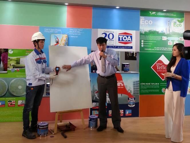 Sơn TOA - Nhà Tài Trợ Chính Cho Triển Lãm Quốc Tế Vietbuild Hà Nội Từ 25 - 29/03