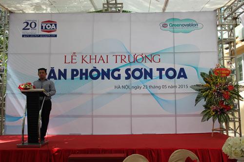 Công Ty TNHH Sơn TOA Việt Nam Chính Thức Khai Trương Chi Nhánh Tại Hà Nội