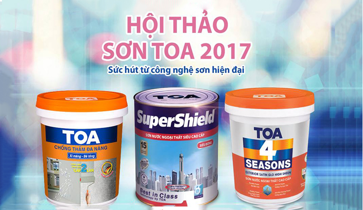TOA Paint WORKSHOP 2017: EXPLORE THE NEW TECHNOLOGY IN PAINT